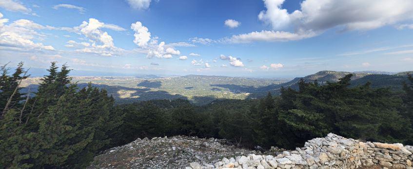 vue panoramique efta portes rhodes