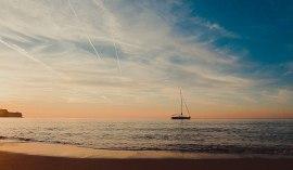 Tsambika beach sunrise