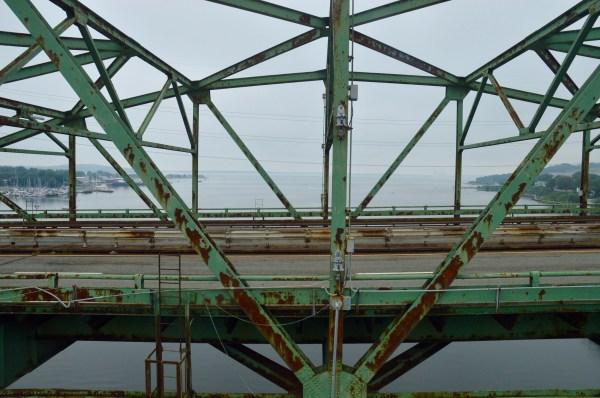 FINALLY Rusty bridge is coming down RhodyBeat