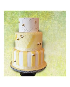 Shower Cake - Bee Theme