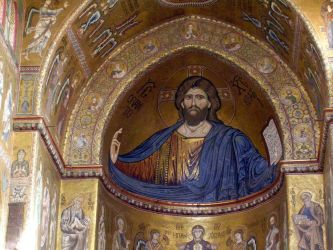 byzantine medieval christian monreale christ pantocrator church early mosaics sicily century monumental catholic cathedral late 12th lee pic gabbana dolce