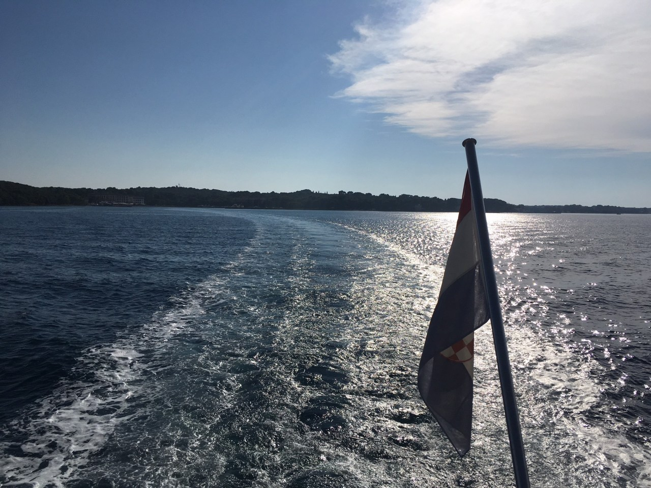 Brijuni national park ferry