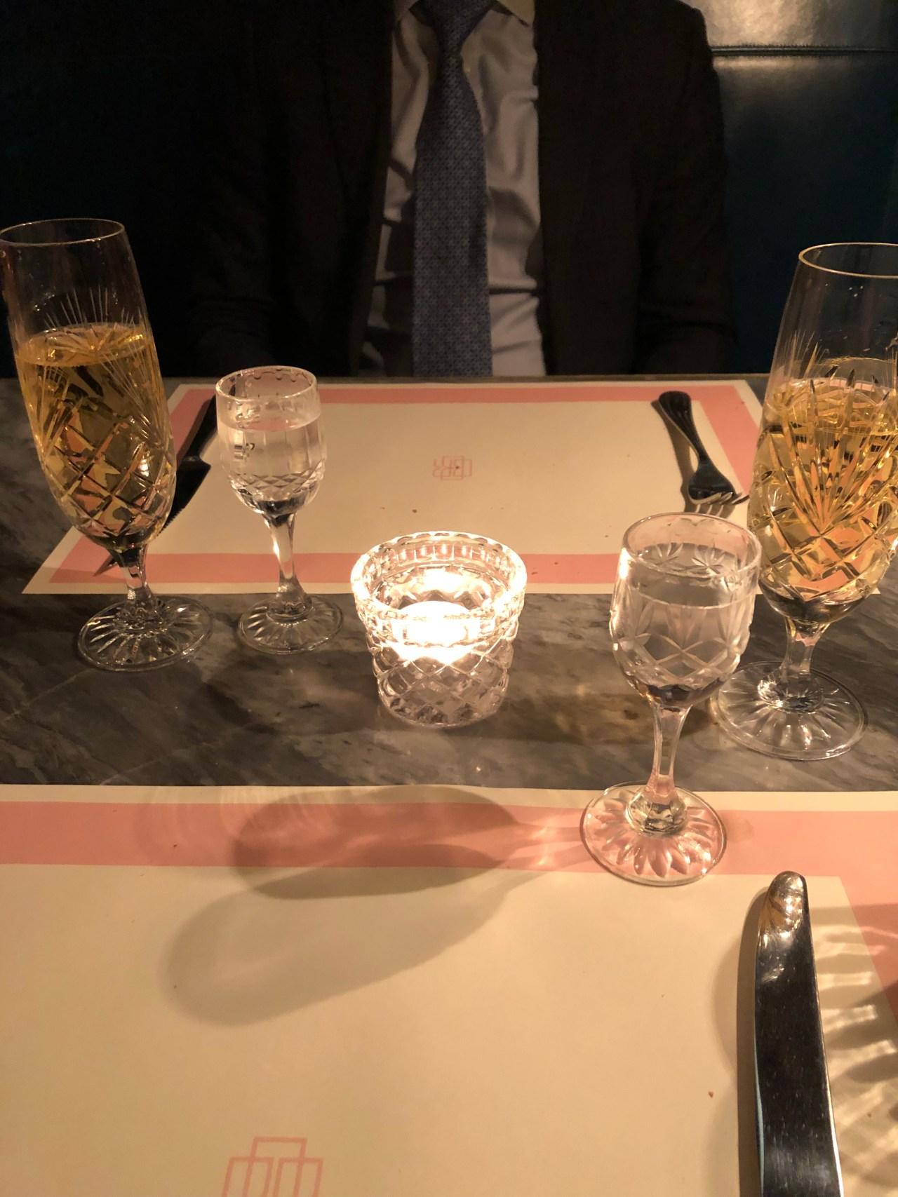 Vodka and champagne Bob Bob Ricard