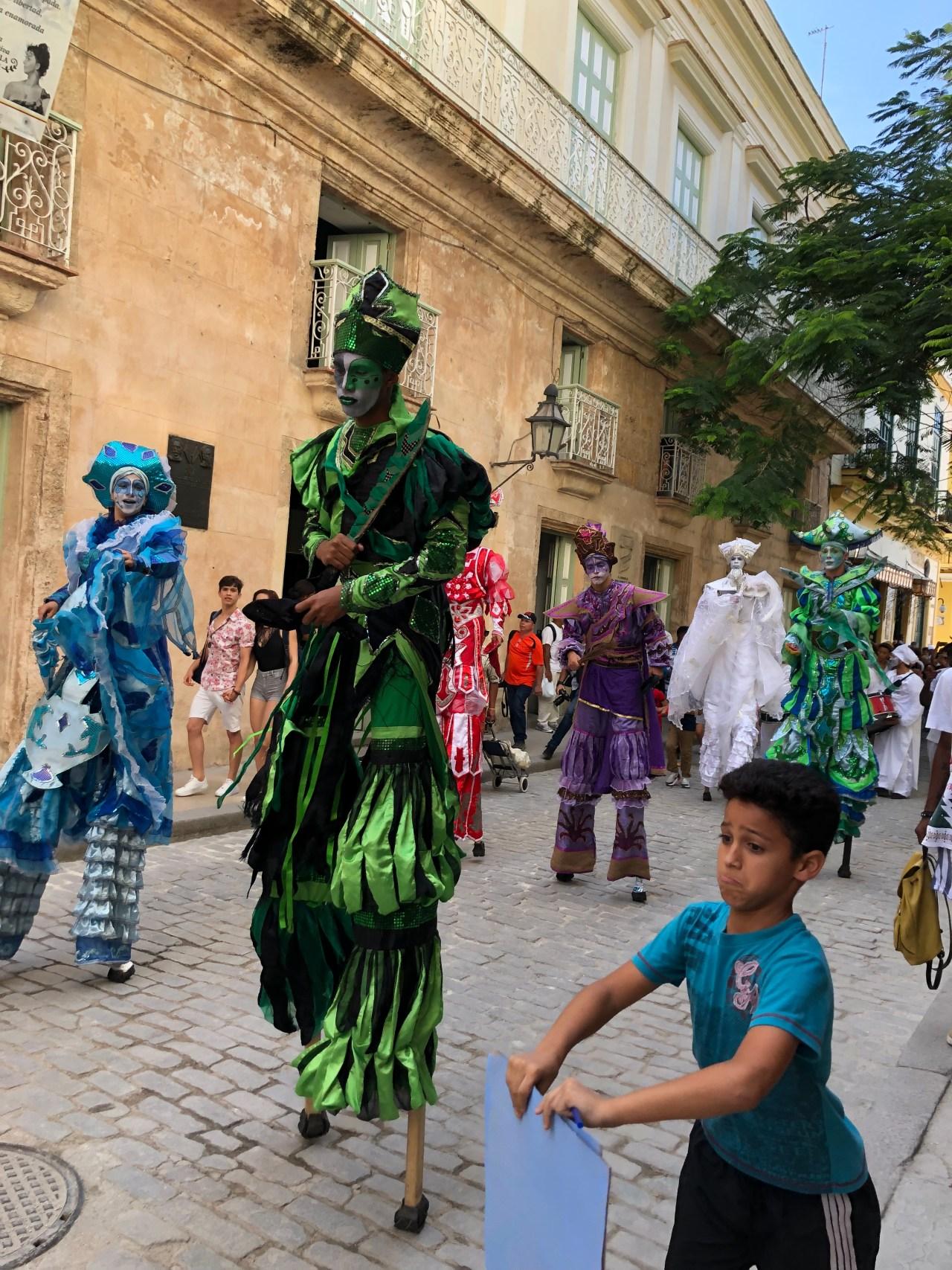 Street festival Havana