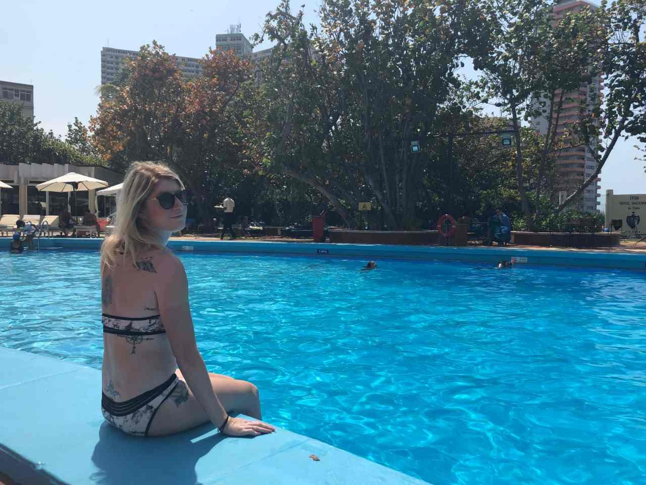 The Hotel Nacionale Pool Havana