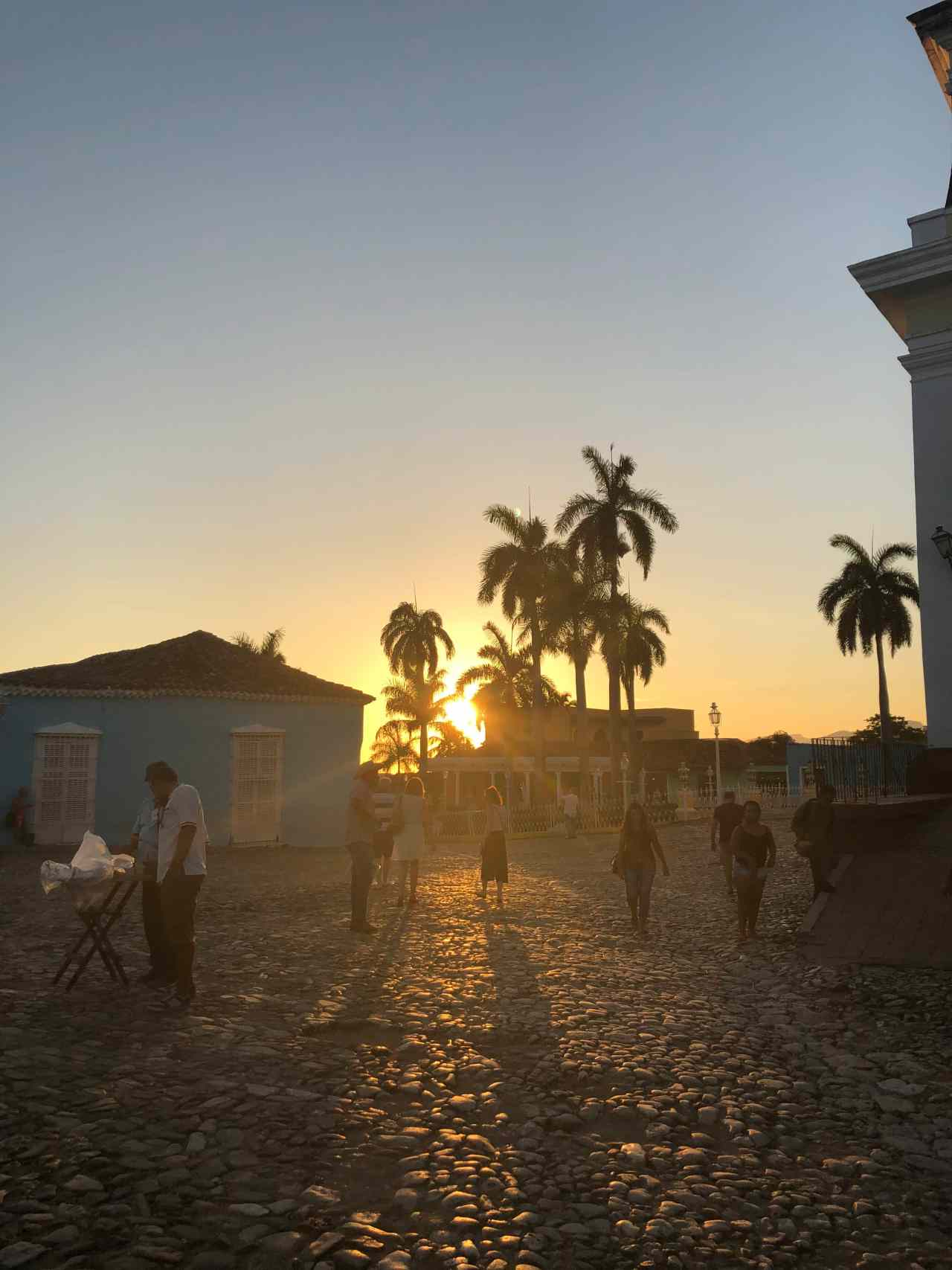 Caribbean sunset in Trinidad