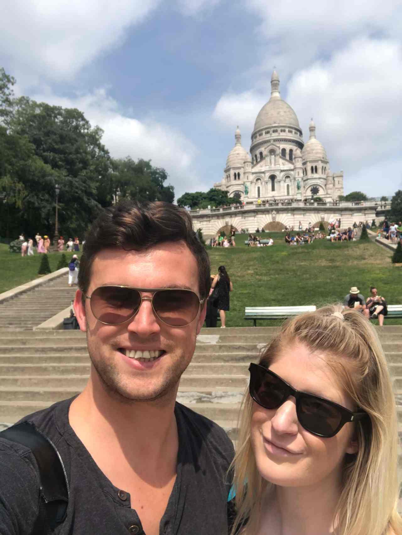 Sacre Coeur Selfie