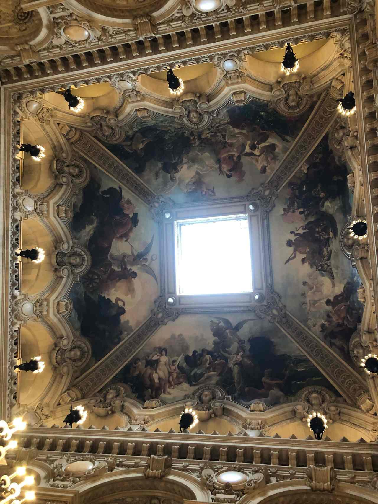 Palais Garnier Opera House Paris ceiling