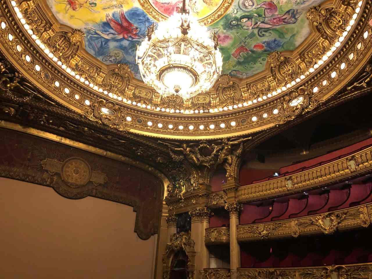 Palais Garnier Opera House Paris theatre