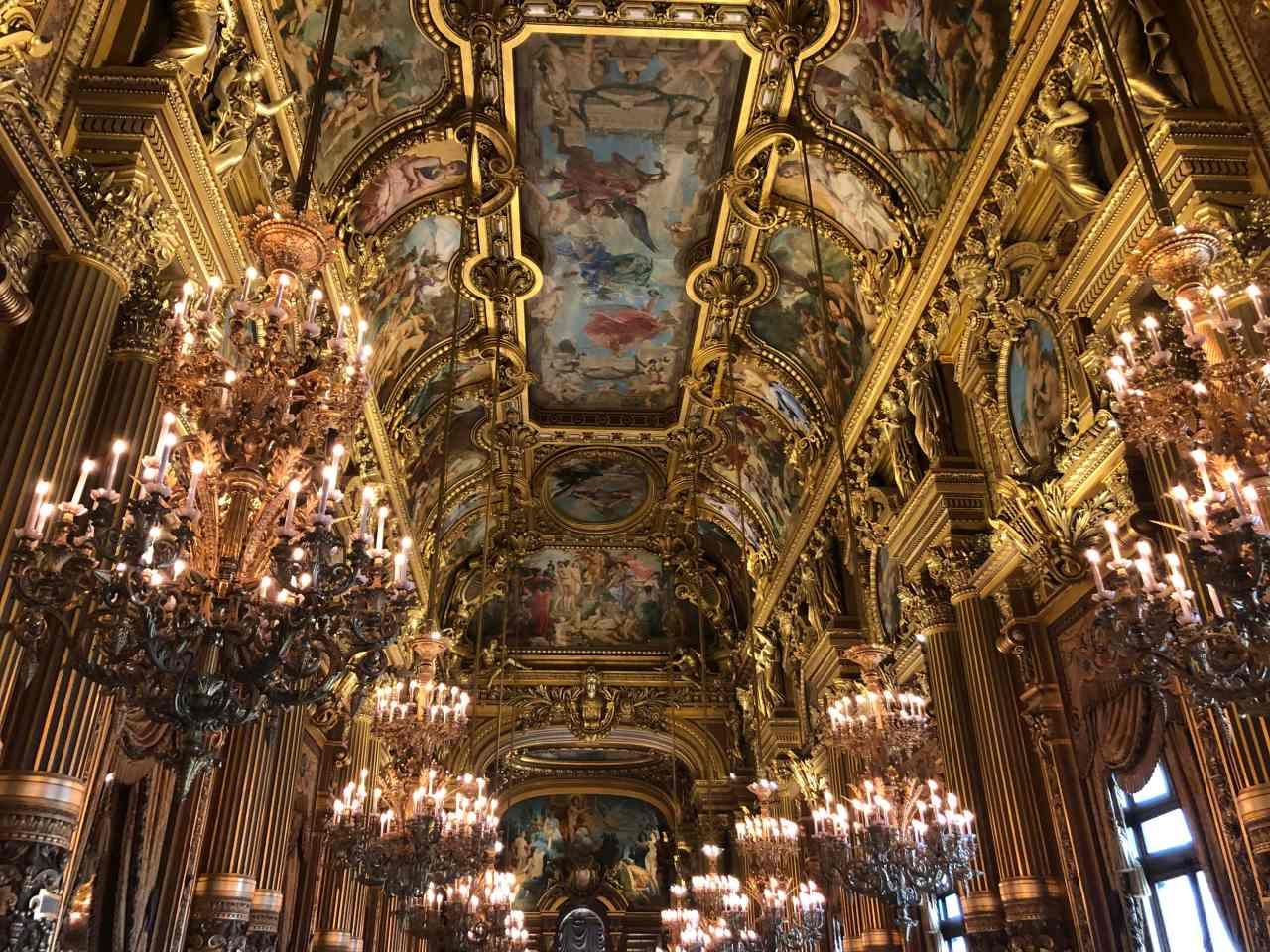 Palais Garnier Opera House Paris ballroom