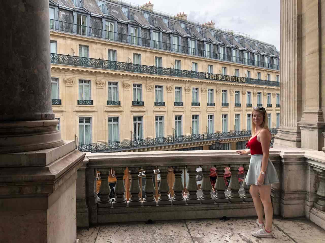 Palais Garnier Opera House Paris Balcony