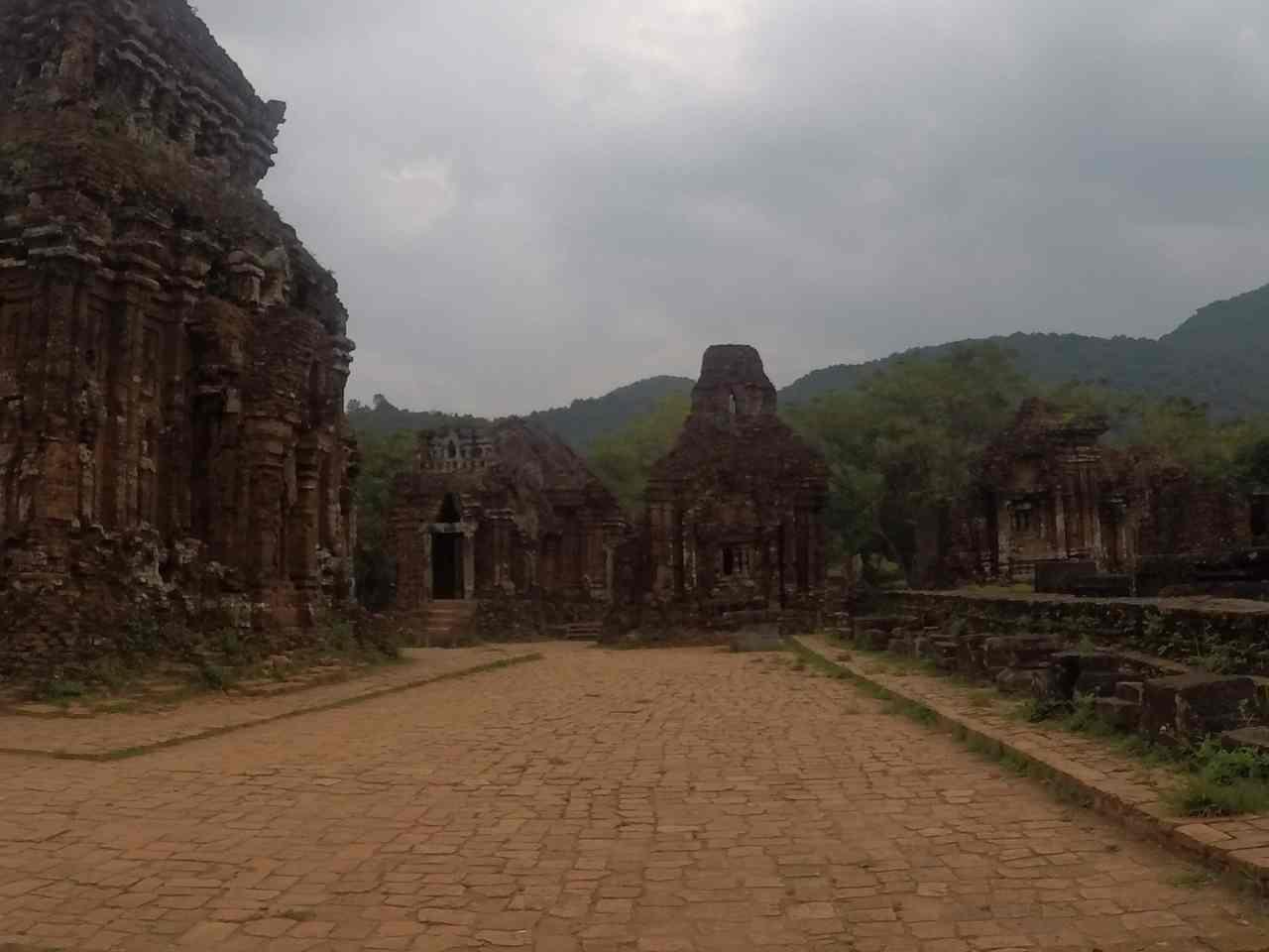 Temple complex UNESCO My Son Vietnam