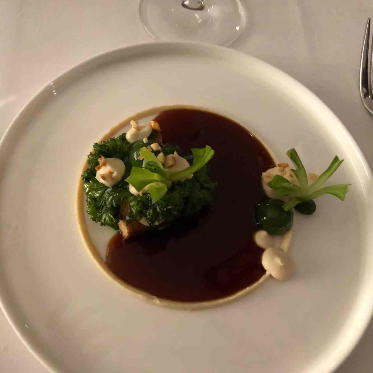 Ox & Klee vegetarian tasting menu
