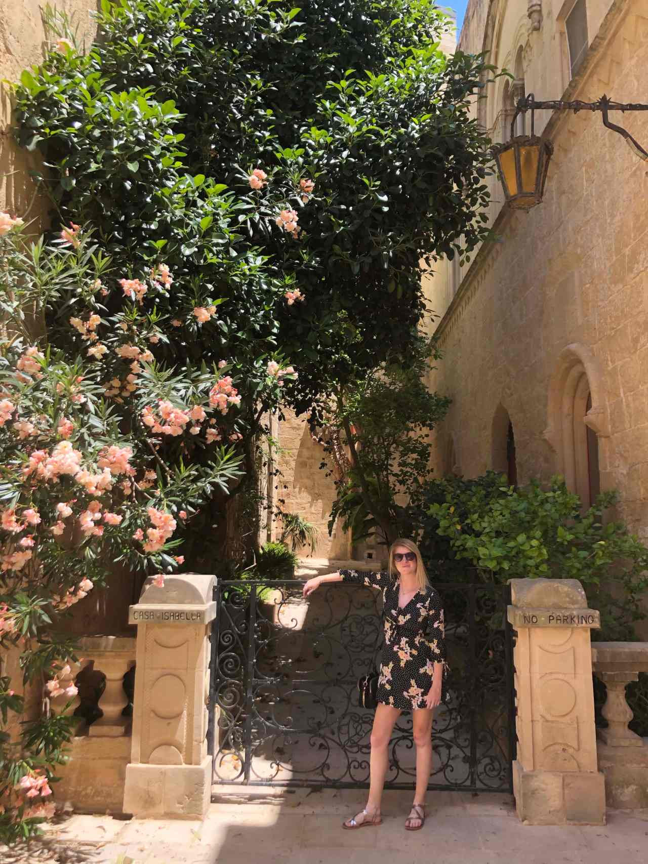 Instagram flowers Mdina