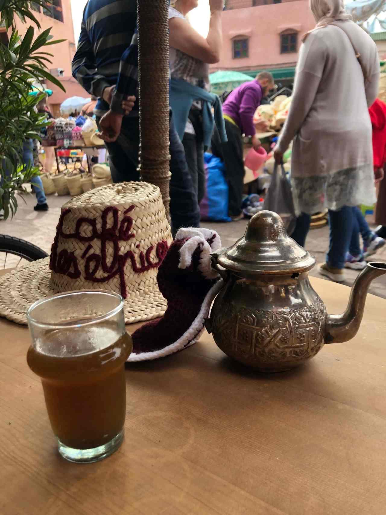 Cafe les Espaices marrakech