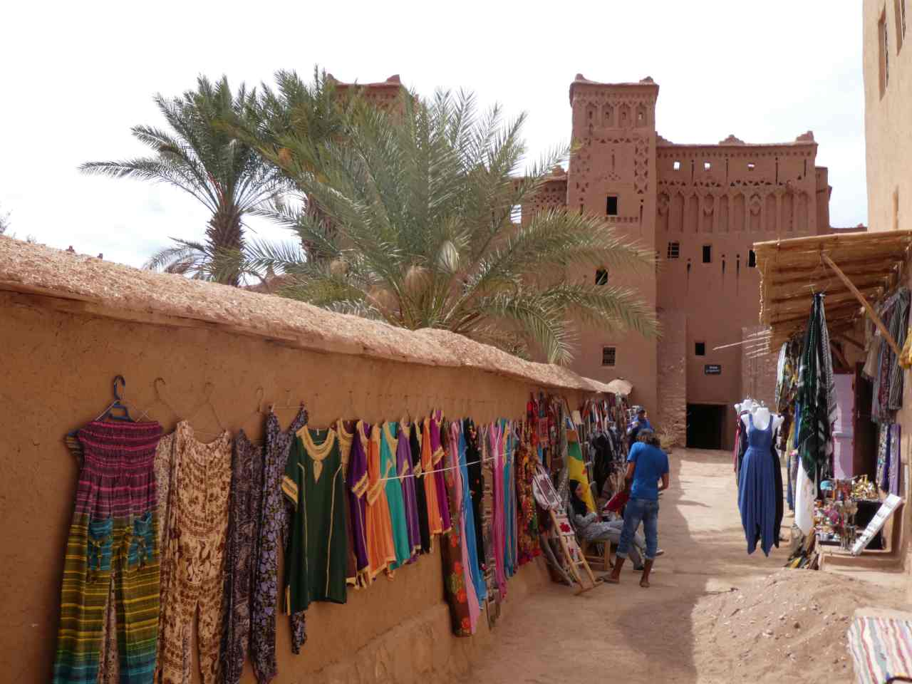 Clothes for sale at Ait Benhaddou