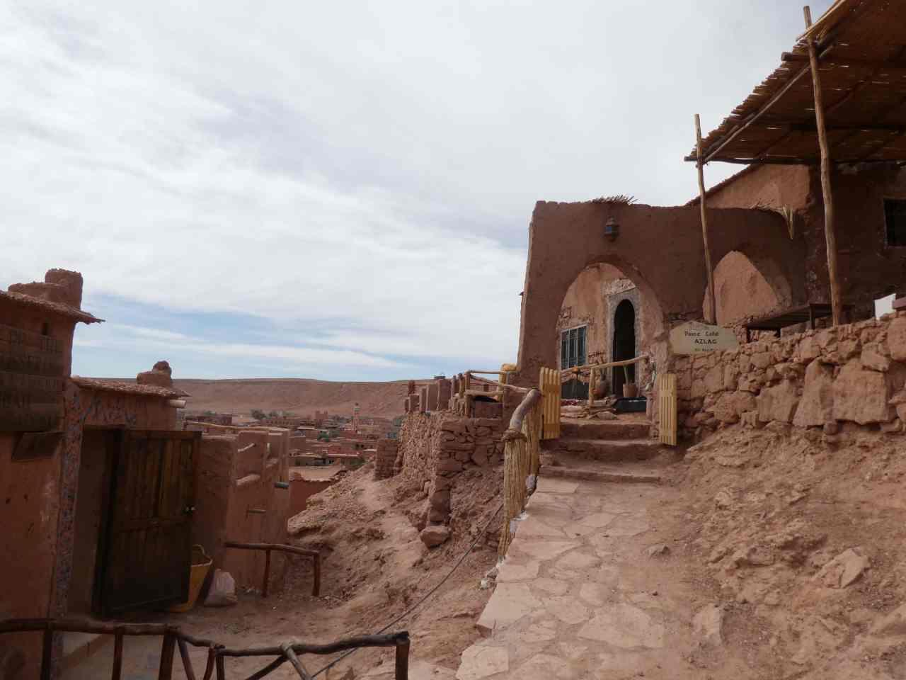 Berber village Ait Benhaddou