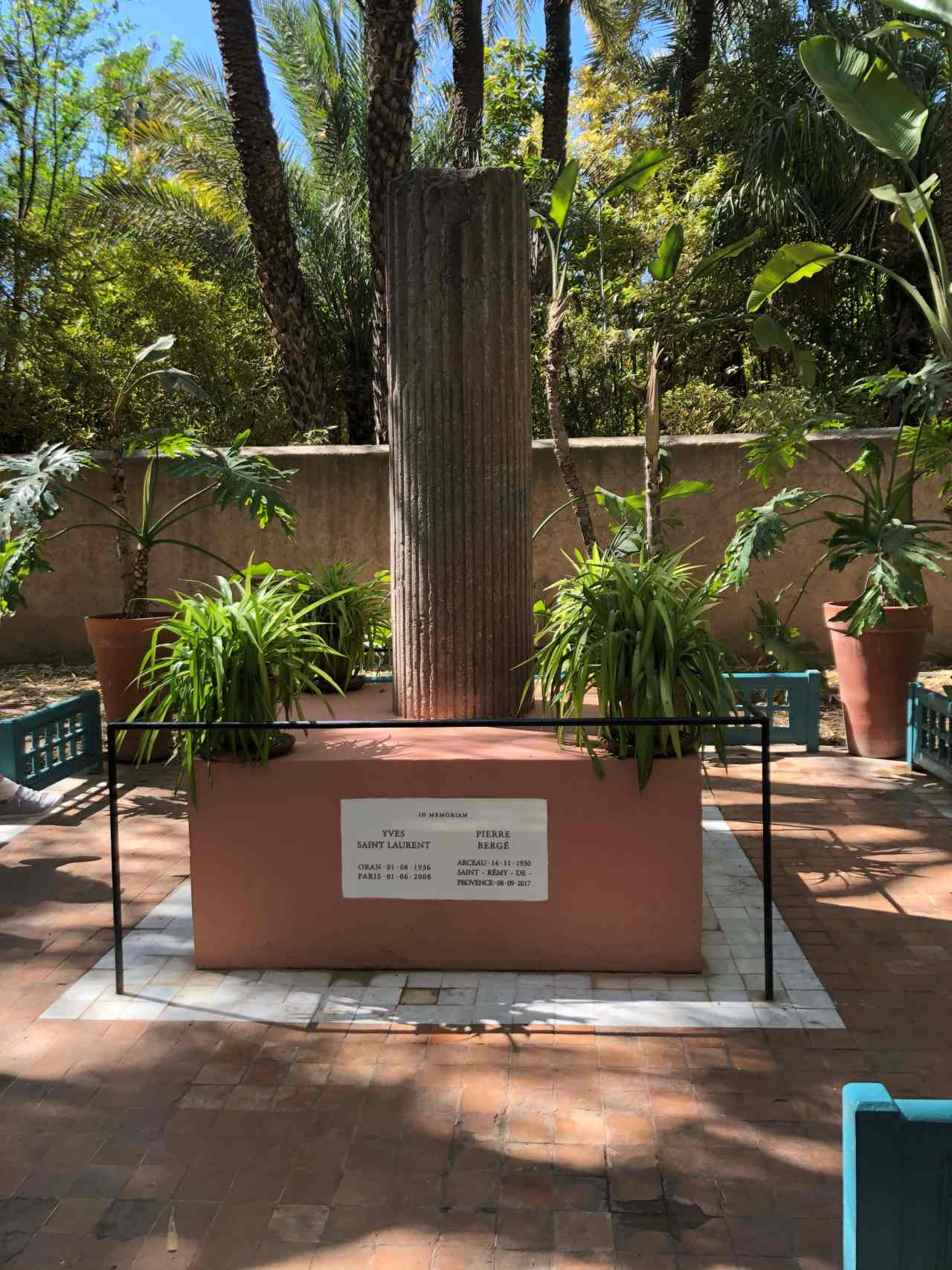 Yves Saint Laurent Memorial Marrakech