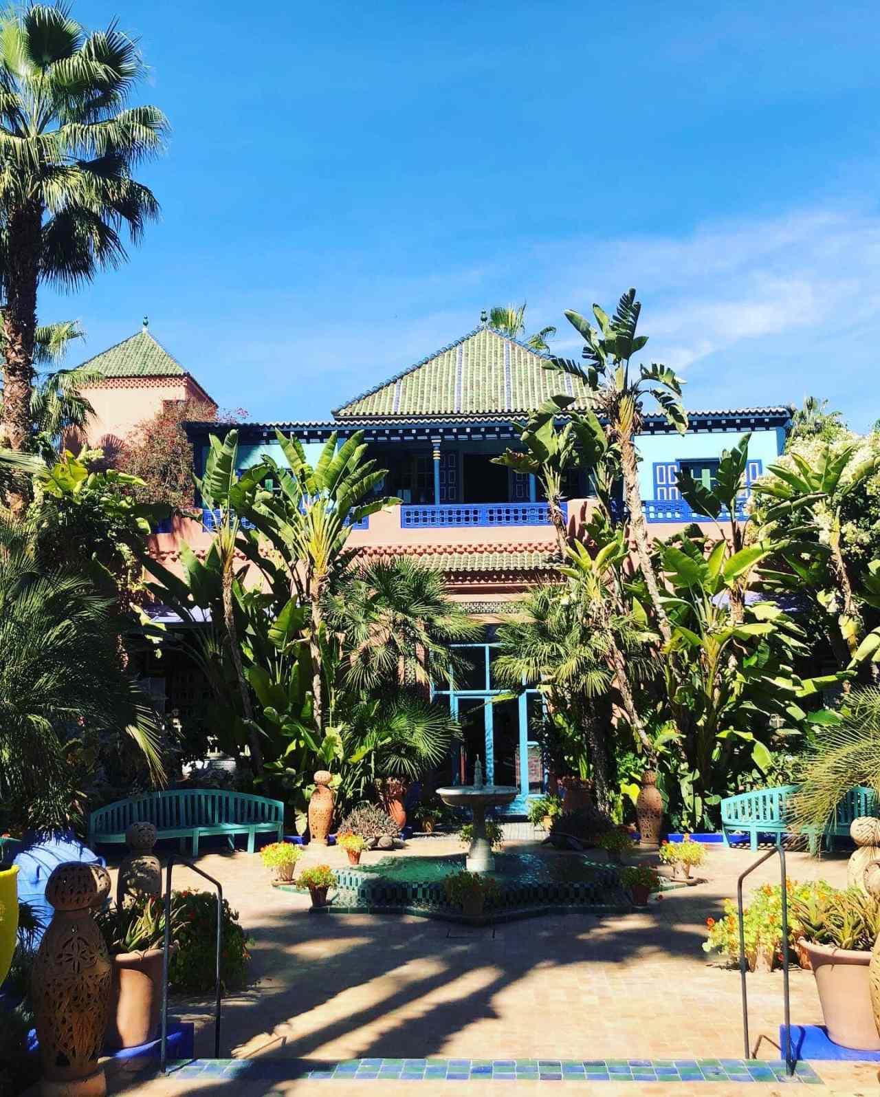 Yves Saint Laurent house Marrakech