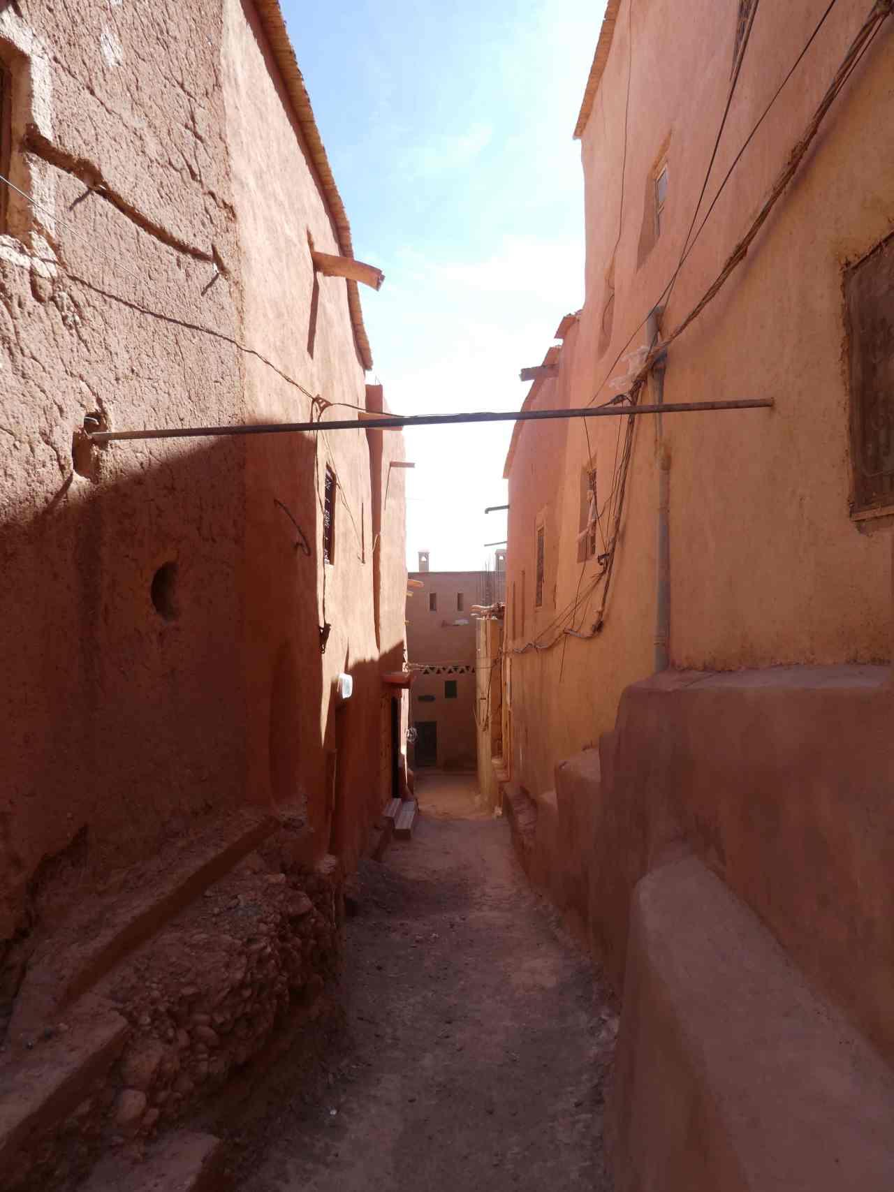 Street in Ouarzazate Morocco
