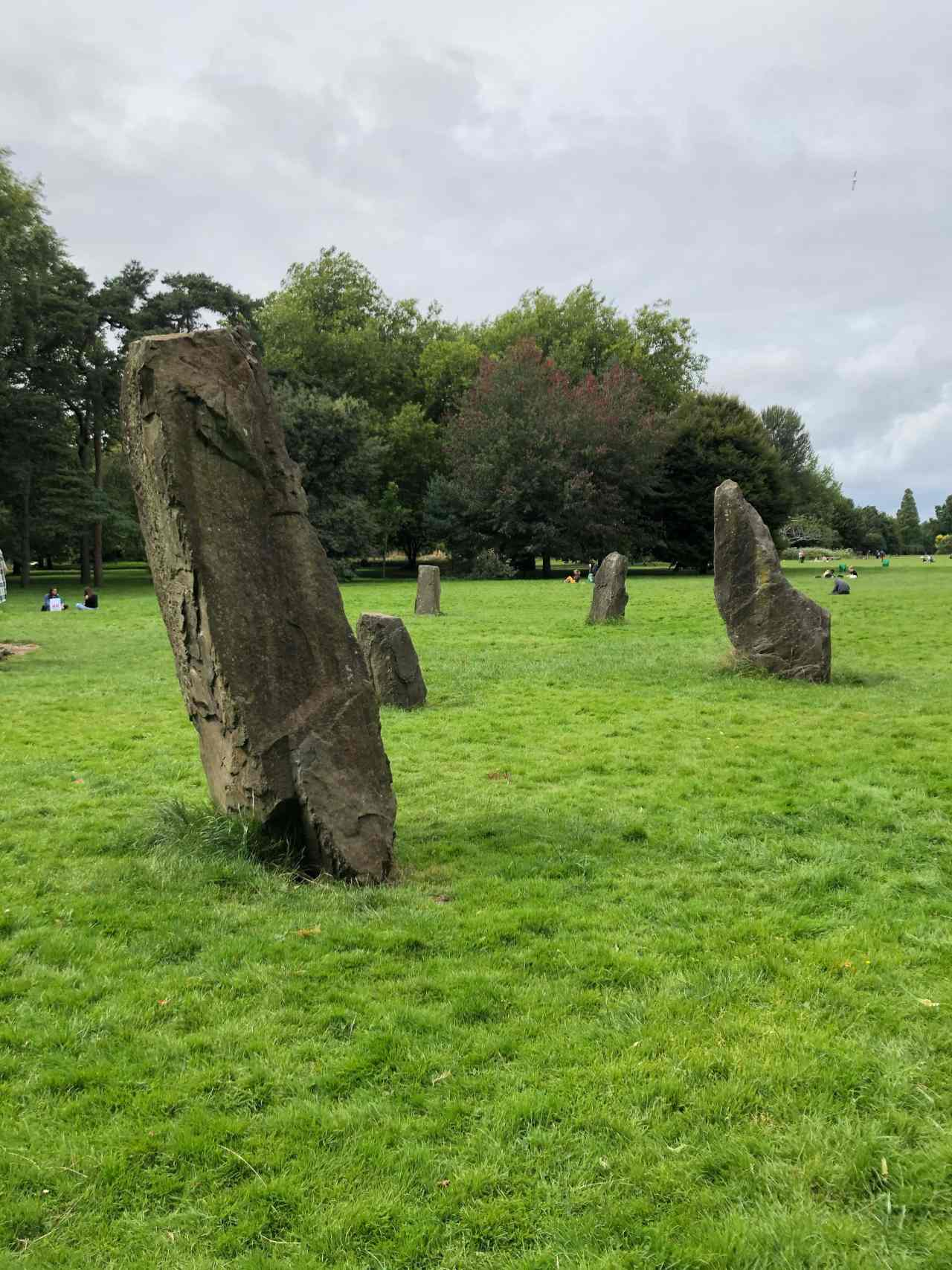 Stone circle cardiff butes park