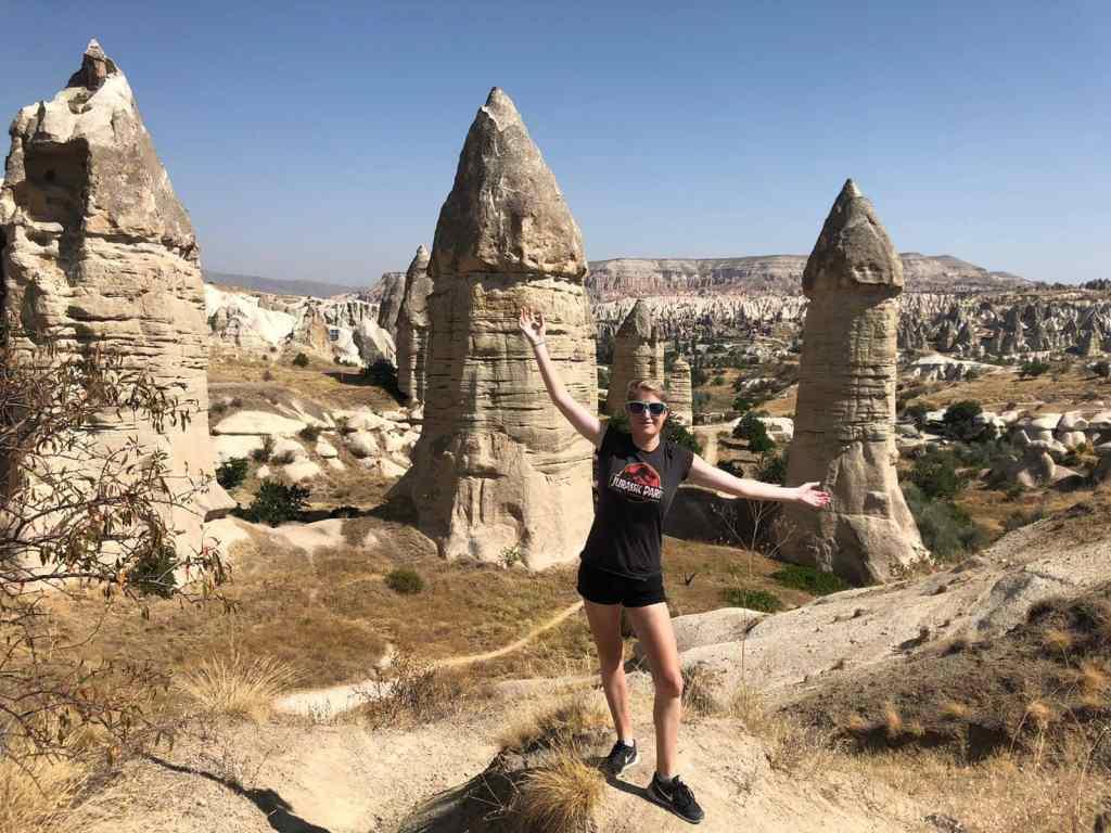 Phallic rocks cappadocia
