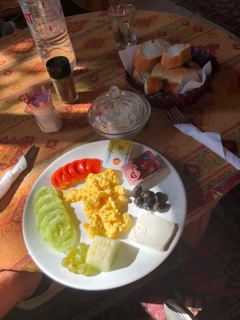 Turkish breakfast Kose Pension