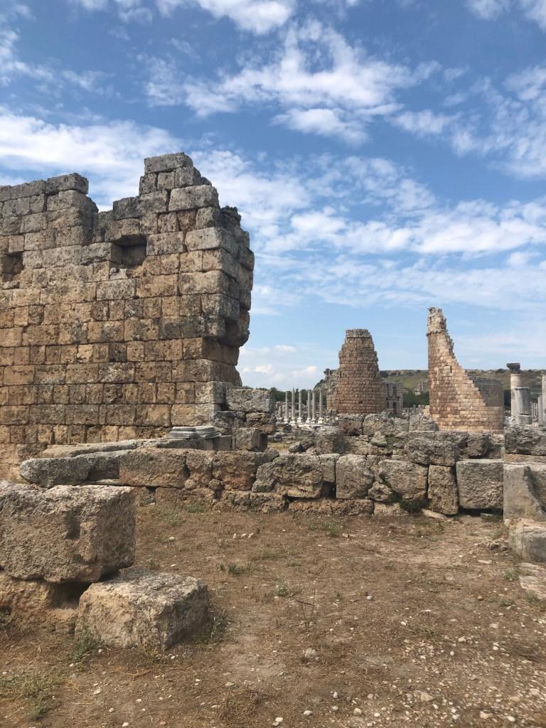Perge City walls