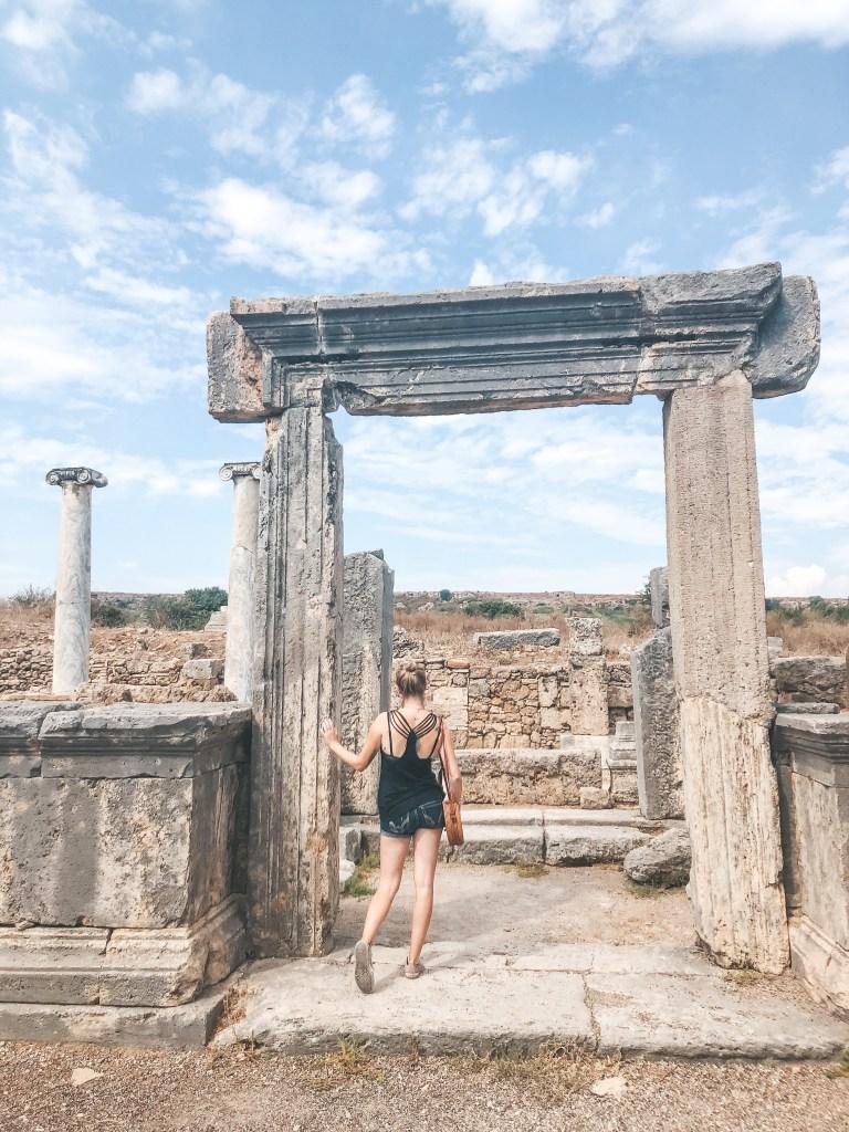 Ancient doorway Perge