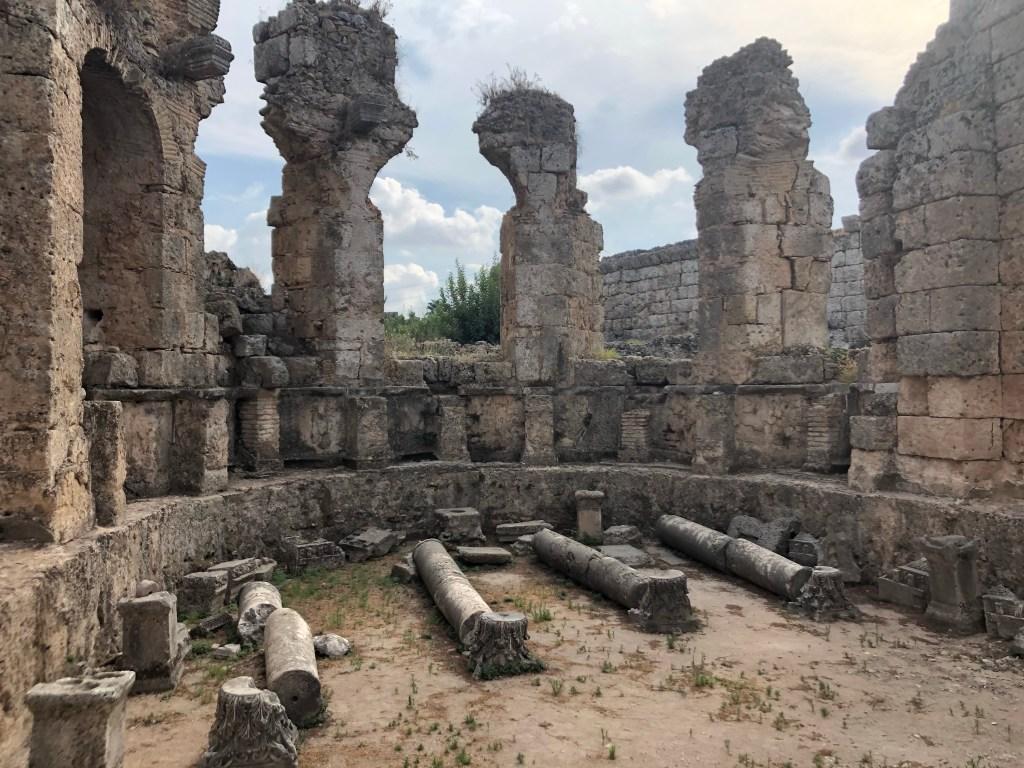 Greek bathhouse Perge