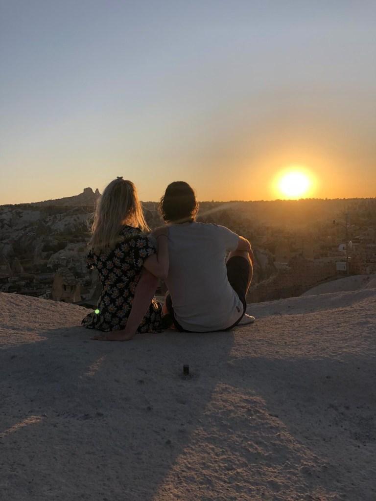 Cappadocia viewpoint sunset