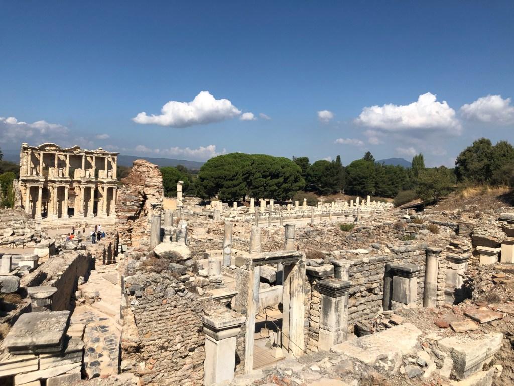 Ephesus archilogical site