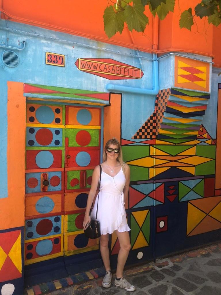 Casa Bepi buron colourful house