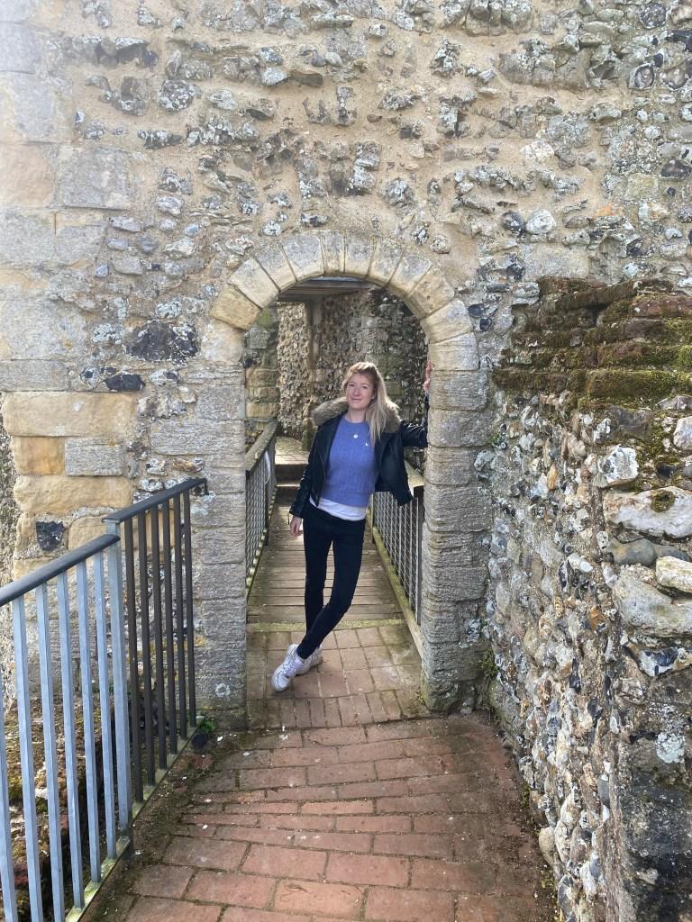 Framlingham castle walls