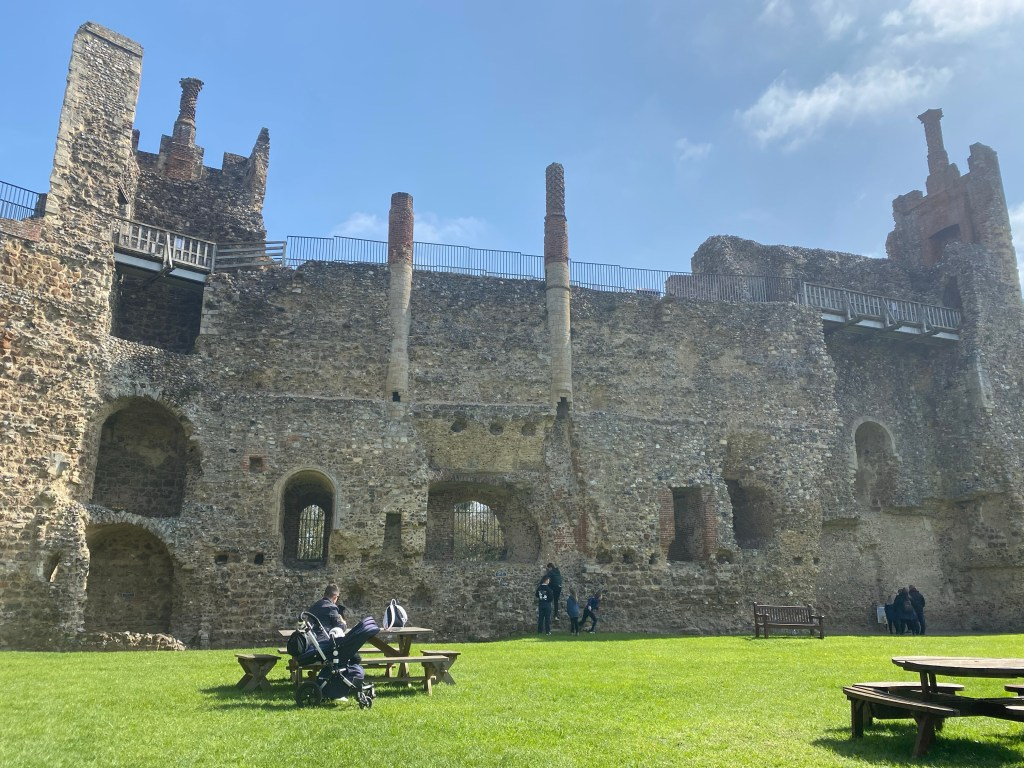 Tudor additions to Framlingham castle