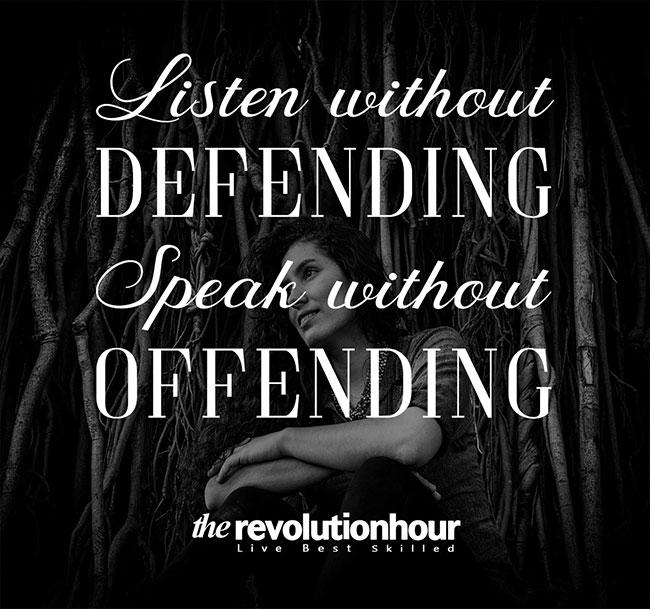 Defending Offending
