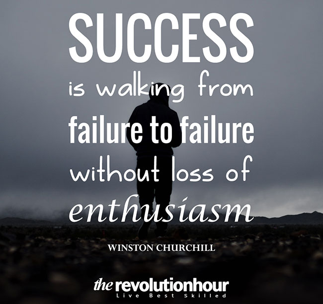 Success Walk From Failure To Failure