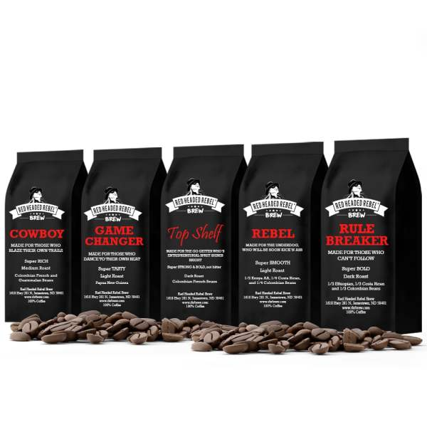 RHR Brew Coffee Power Pack - Whole Bean