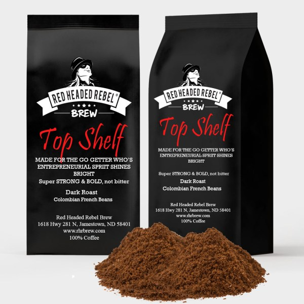 RHR Brew Top Shelf Coffee - Ground - 2 Pack