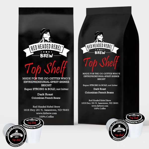 RHR Brew Top Shelf - Rebel Cups - 20 Pack