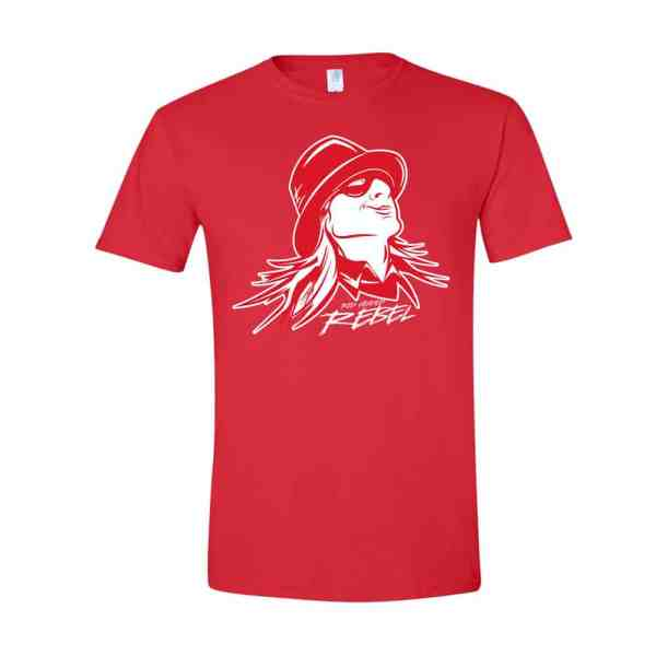 Red Headed Rebel® Washed Out T-Shirt Front