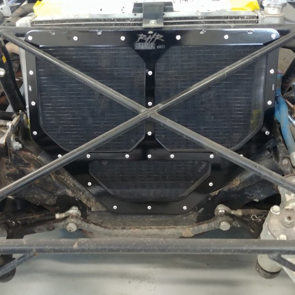 RHR Blackout Radiator Screen