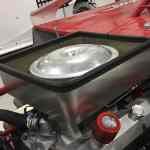 RHR Cool Air Box Installed (4 Sides - Ideal For Hood with Air Filter Opening)