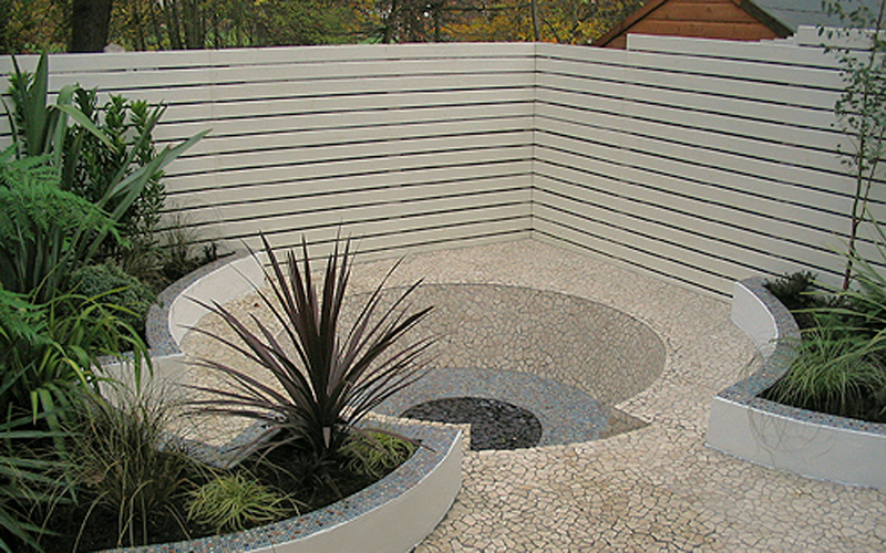 Contemporary Front Garden Design