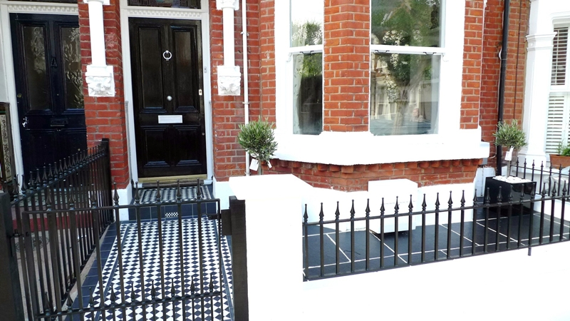 London Front Garden Great Idea For A Town Terraced House