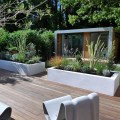 Relaxing urban oasis a place to work study and entertain a modern