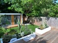 Clapham and Balham modern garden design decking planting ...