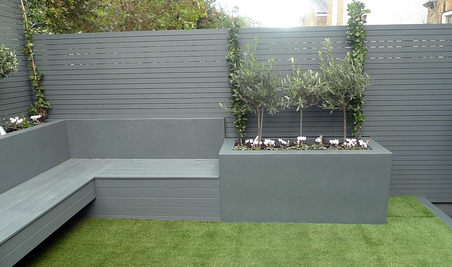 bench  London Garden Blog