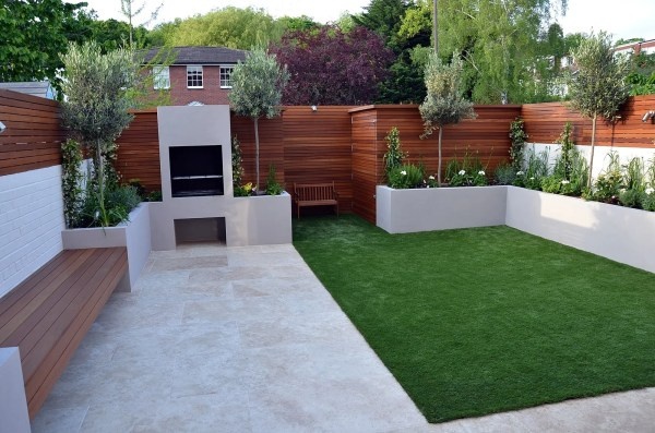 modern garden design fulham chelsea