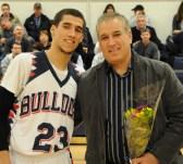 Bryan Tavares and his father Fabio Tavares